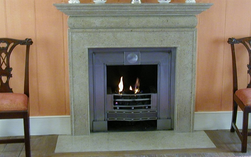 Purbeck fireplace