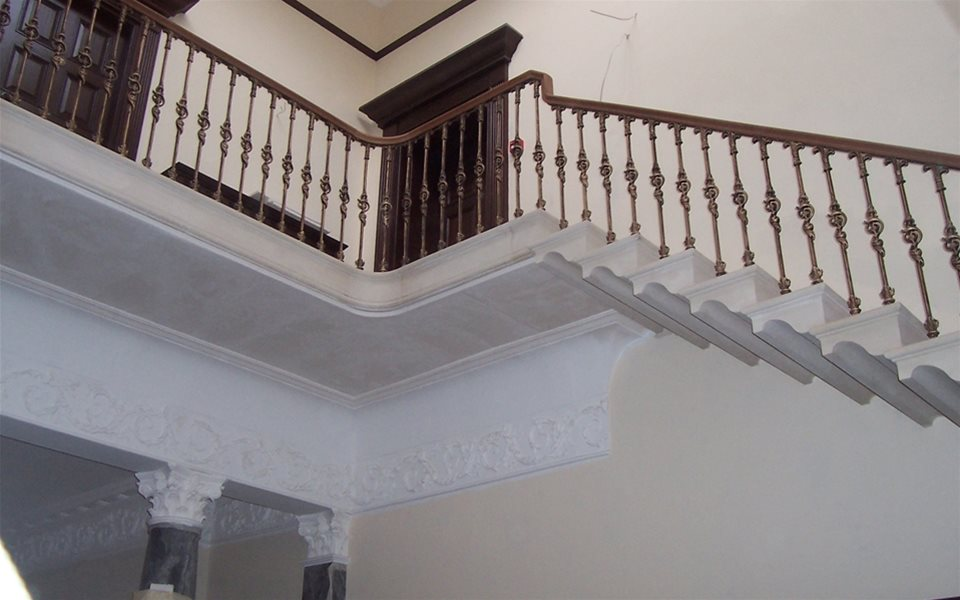 Staircase and landing