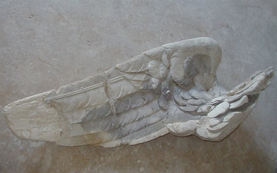 Perseus and Andromeda Fountain - Carving original wing