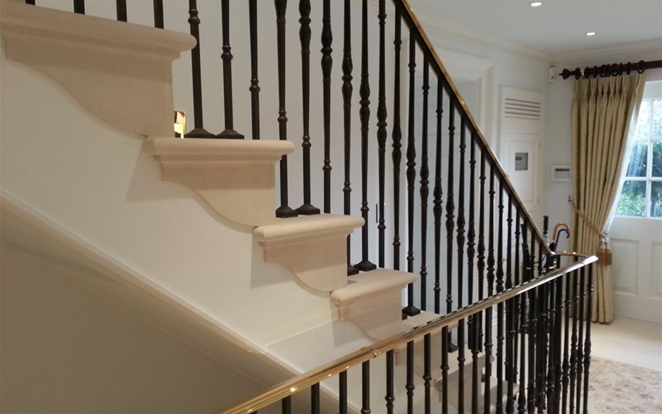 Cladding stairs