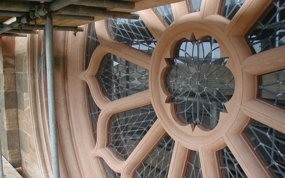 Rose Window - St Magnus Cathedral - Orkney After