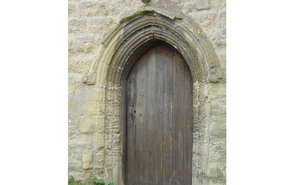 North Marston - west door