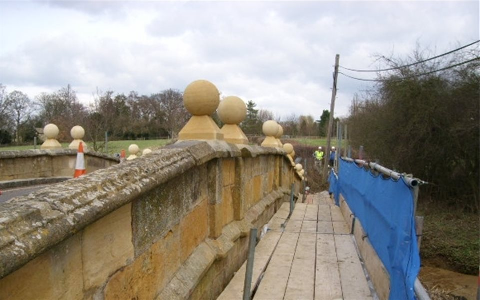 Bridge repairs After